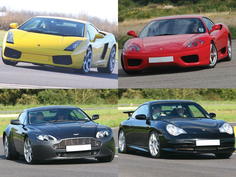 Ultimate Supercar Four Driving Experience Christmas Offer Driving Experience Super Cars Driving