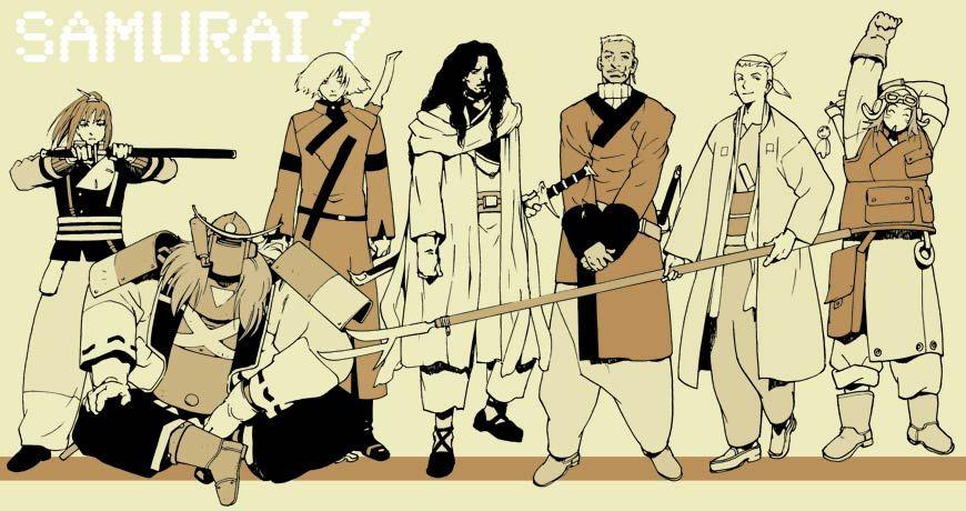 Samurai 7 Anime Characters : Samurai 7. anime manga pinterest samurai anime and manga