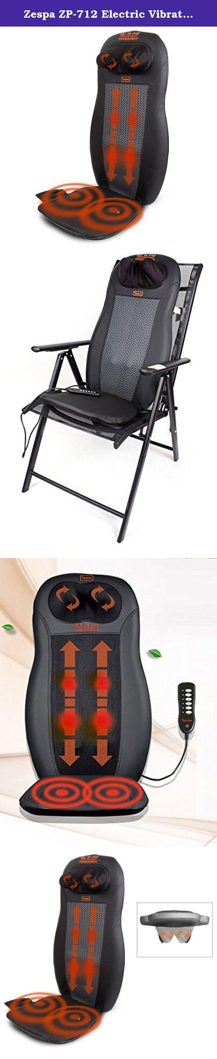 Zespa ZP712 Electric Vibrating Nect Back Massage Cushion