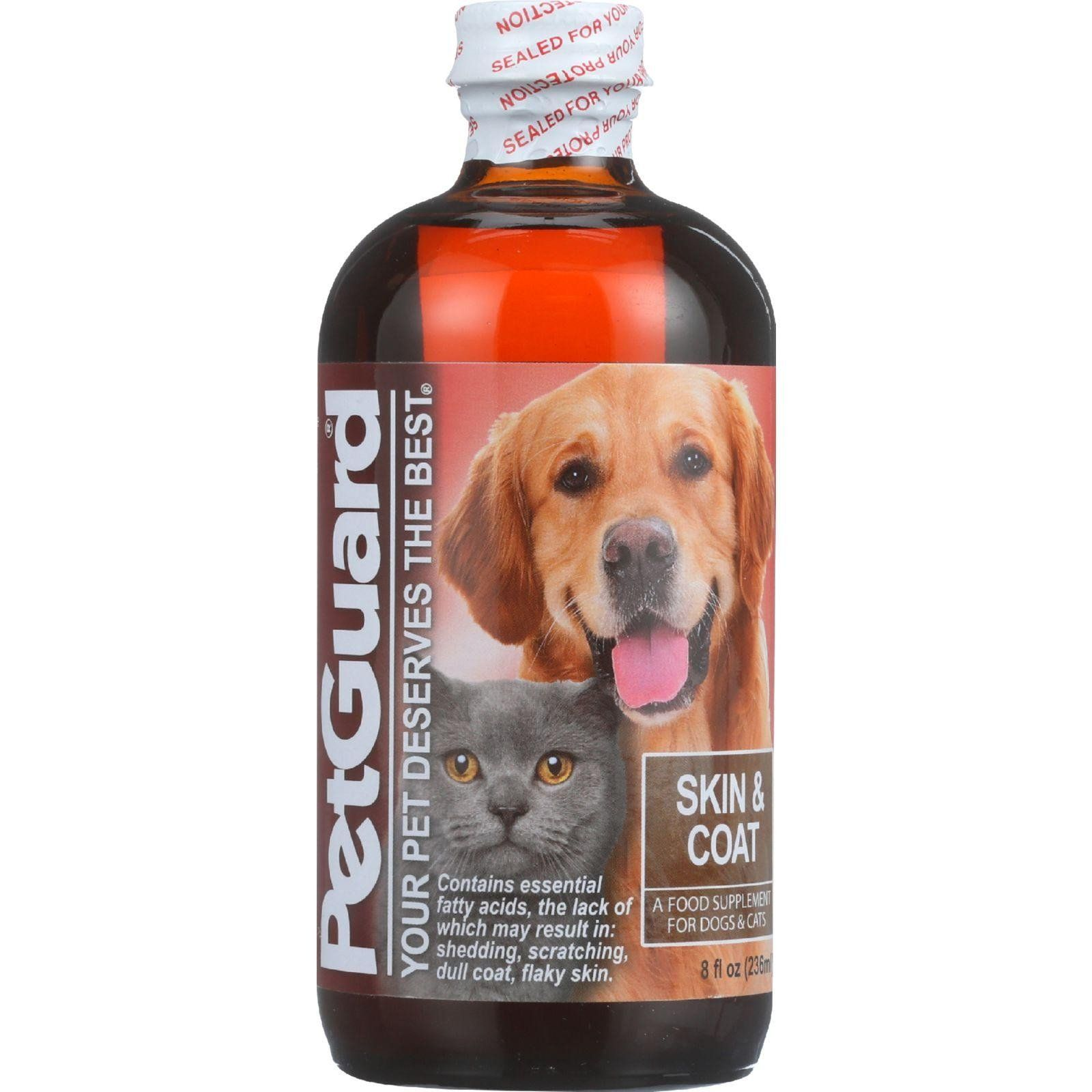 Petguard Skin And Coat Supplement Dogs And Cats 8 Oz