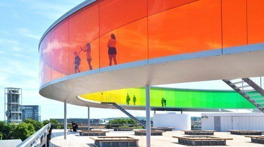 Inside the Rainbow: See the World in Color at ARoS