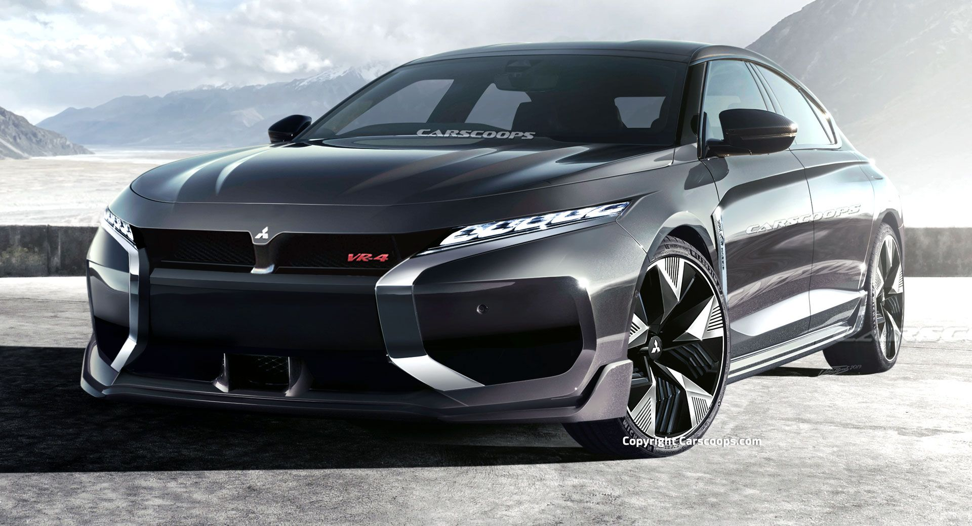 What If Mitsubishi Resurrected The Galant Nameplate With A New Vr4 Performance Model Sporting A Plug In Electric In 2020 Mitsubishi Galant Mitsubishi Mitsubishi Motors