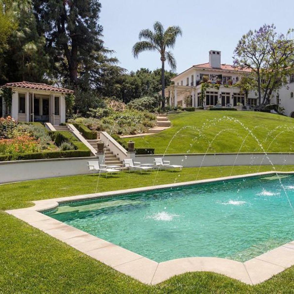Beautiful Homes In Los Angeles: Step Inside Angelina Jolie's New $25million Home In Los