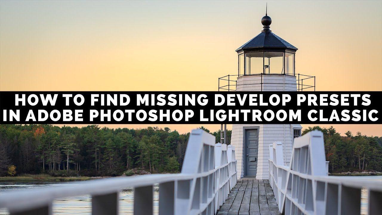 Lightroom find missing photos