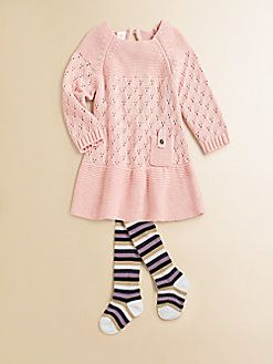 Egg Baby - Infant's Girl's Sweater Dress