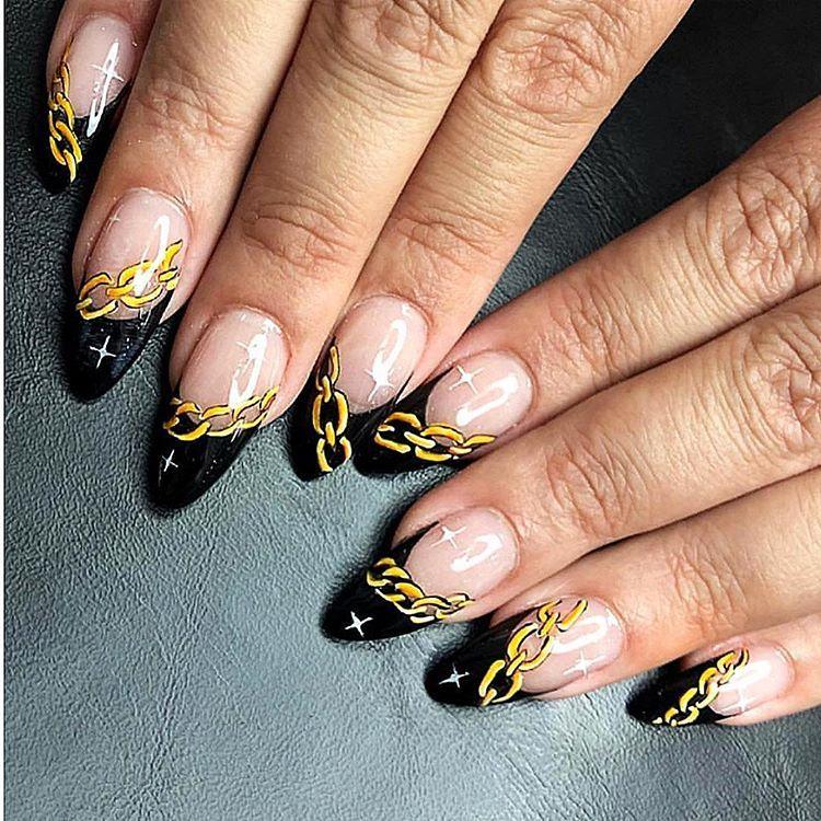 #flashback Gangsta Bitch⛓💵 #nails#nailart#nailswag#nailporn#nailenvy#nailartist#nailedit #nails💅 #nailartclub #nailartist #nailartaddict…