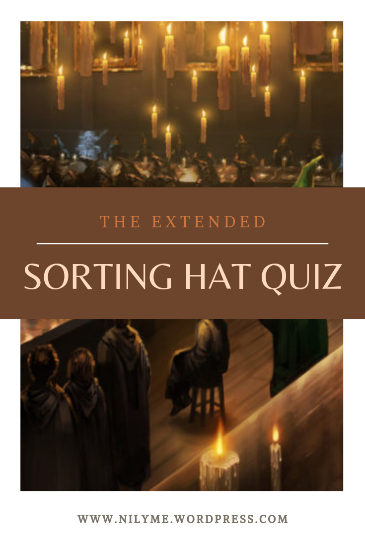 The Extended Sorting Hat Quiz Sorting Quiz Hogwarts Houses Quiz Pottermore Sorting Hat Quiz