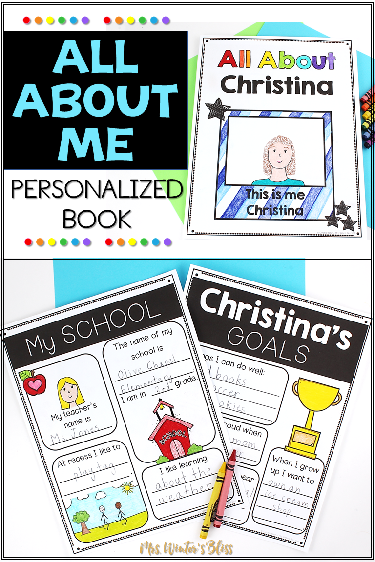 medium resolution of All About Me   All about me book