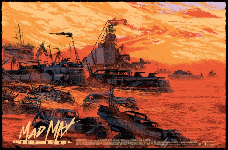 Mondo releases Mad Max Fury Road posters already sold out and double LP