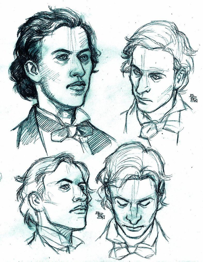 Ic Style Study Portraits Frederic Chopin By Bordonviantart