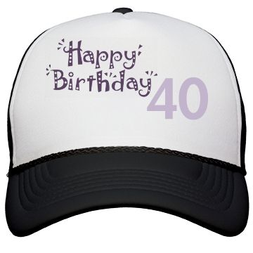 Happy Birthday 40   Lovely for your special day