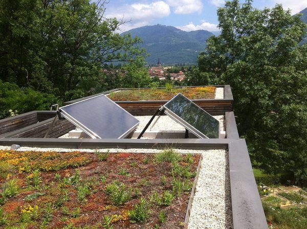 Installation Mixte Solaire Thermique Parfaitement Intgre Sur Un