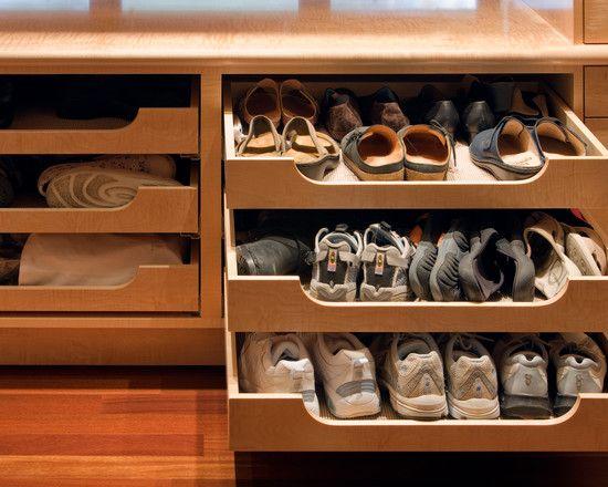 Great Shoe Storage In A Deep Drawer Calclosetdream Closet