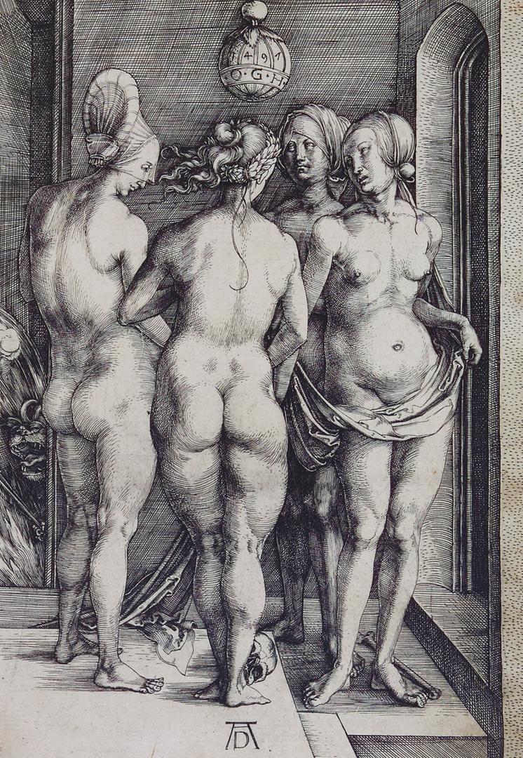 Nackte Frauen von Europa