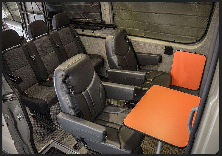 Custom Sprinter 2compact Travel Sprinter Van Mercedes