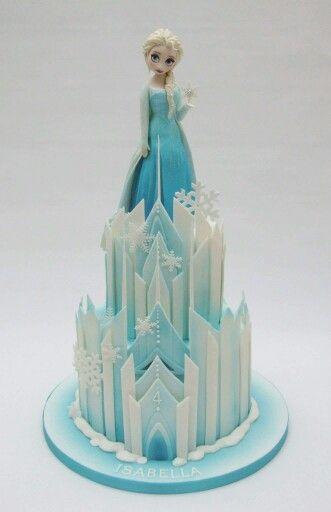 Elsa cake Frozen Cakes Cupcakes and Cookies Pinterest Elsa