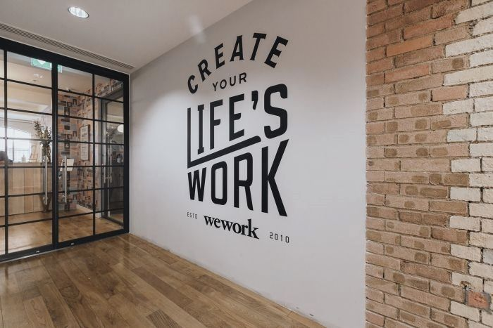 Pin By Cosmo Condo On Office In 2019 Office Mural Office Art