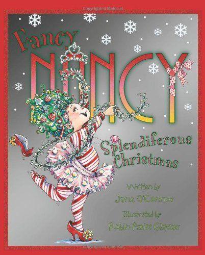 Fancy Nancy: Splendiferous Christmas by Jane O'Connor http://www.amazon.com/dp/B006O37L22/ref=cm_sw_r_pi_dp_VteHvb0E5A5SW