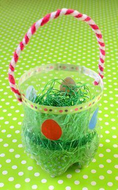 Das Fertige Osterkörbchen ημερα αυγου Ostern Basteln