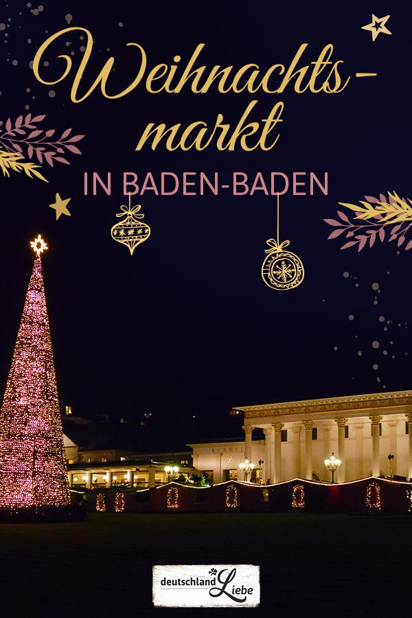 Baden Baden Weihnachtsmarkt Programm