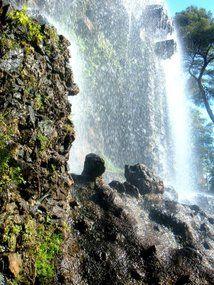 The stunning waterfall in #Nice