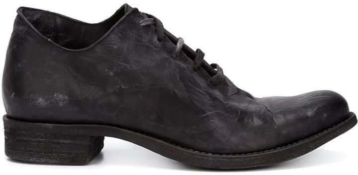 A Diciannoveventitre distressed lace-up shoes