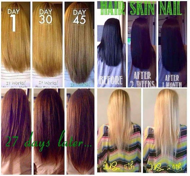 HAIR SKIN NAILS | it works products | Pinterest | Work ...