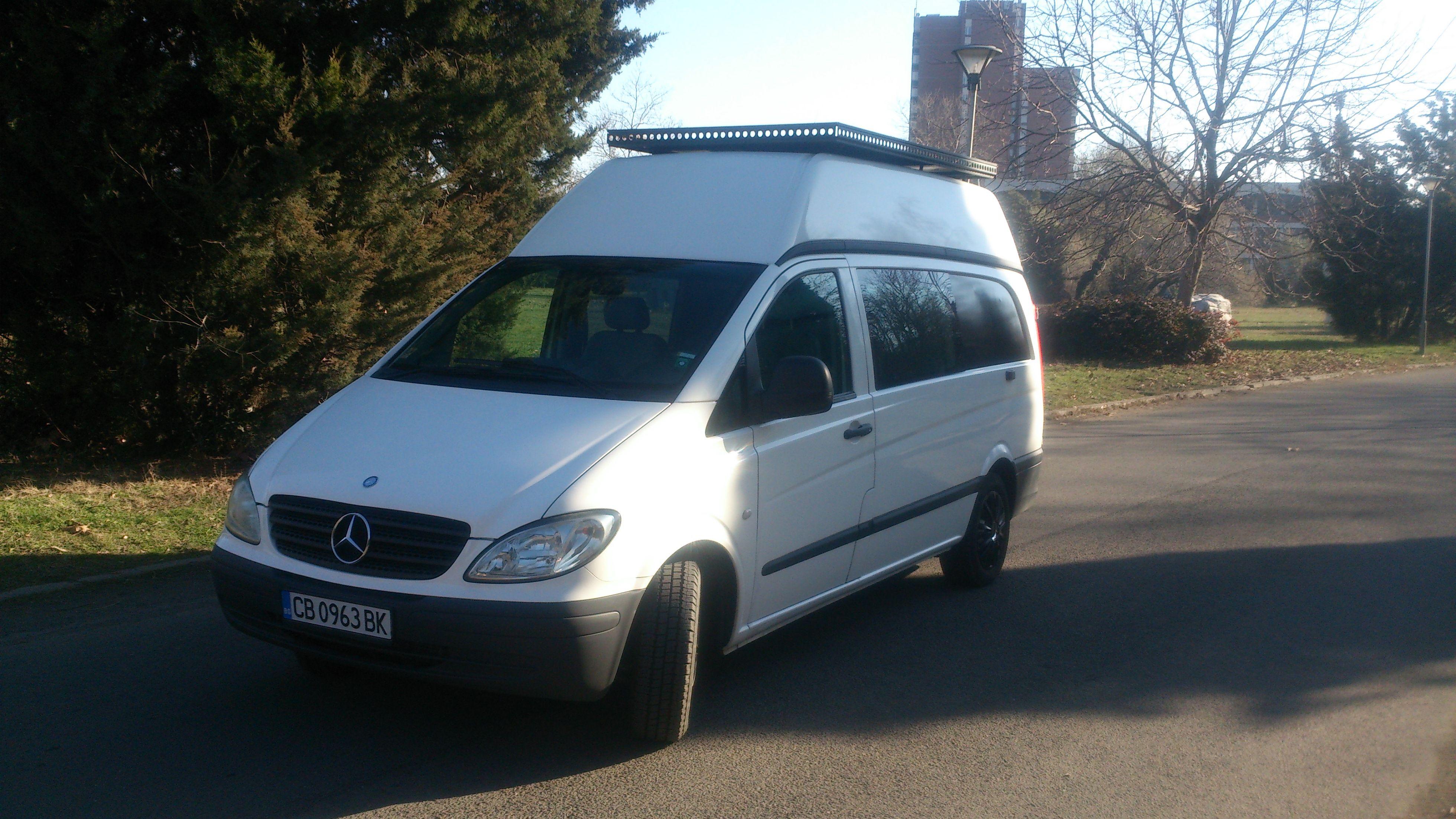Producing Converting And Repairing Campers Caravans RV Mercedes Vito 2006 Camper Van