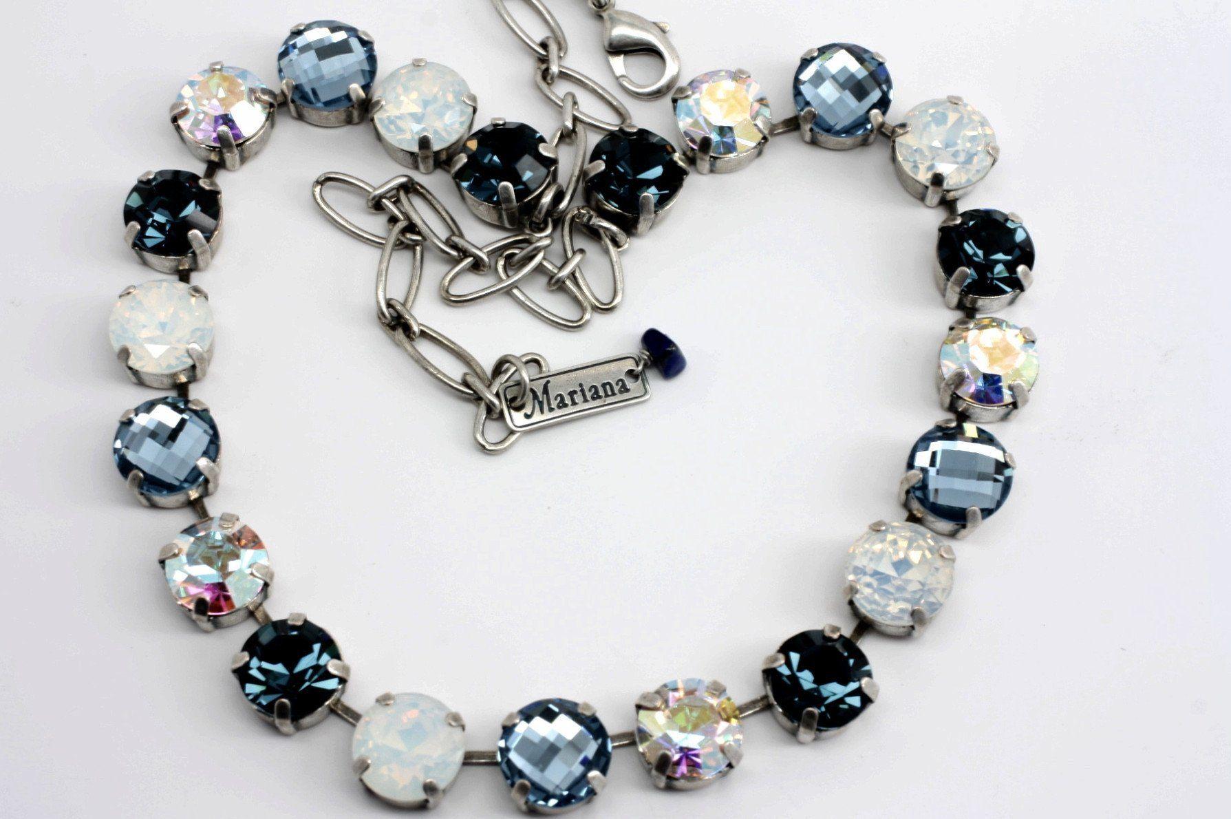 Mood Indigo Large Crystal Necklace