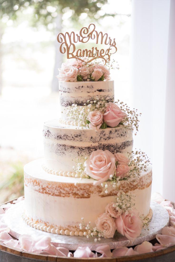 Nackte Hochzeitstorte – Hochzeitstorte