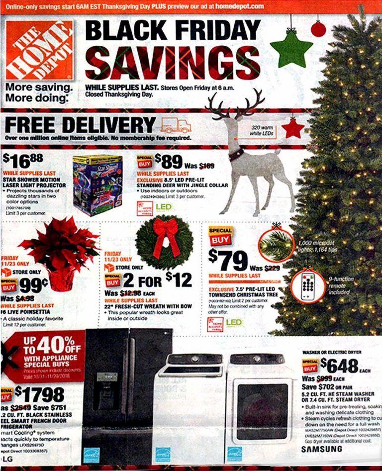 Home Depot Black Friday Ad 2018 Black Friday Ads Black Friday