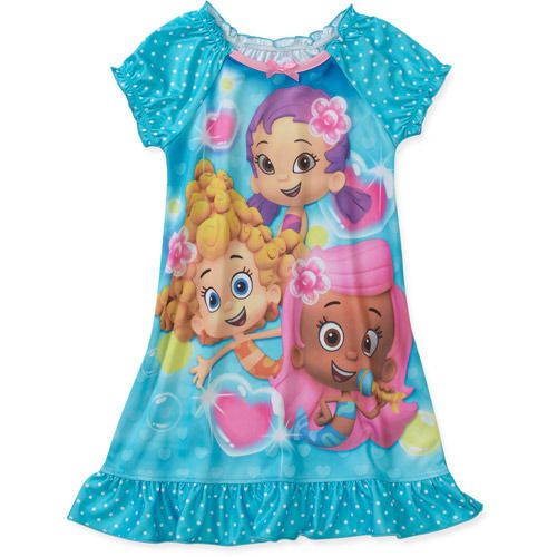 3c80f2755 BUBBLE GUPPIES PAJAMAS NIGHTGOWN SIZE 12 18 24 MONTHS 3T 4T 5T NEW ...
