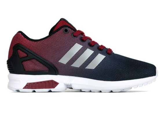 337bab498 ... new zealand 50 off adidas zx flux gradient cardinal red black 2015  running shoes 7f15b 63ad2