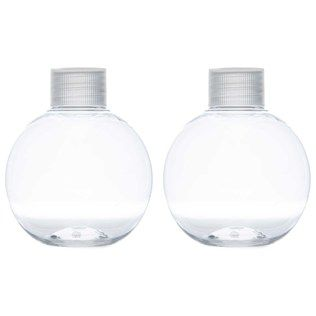Hobby Lobby 5 ounce round clear plastic bottles  Perfect for