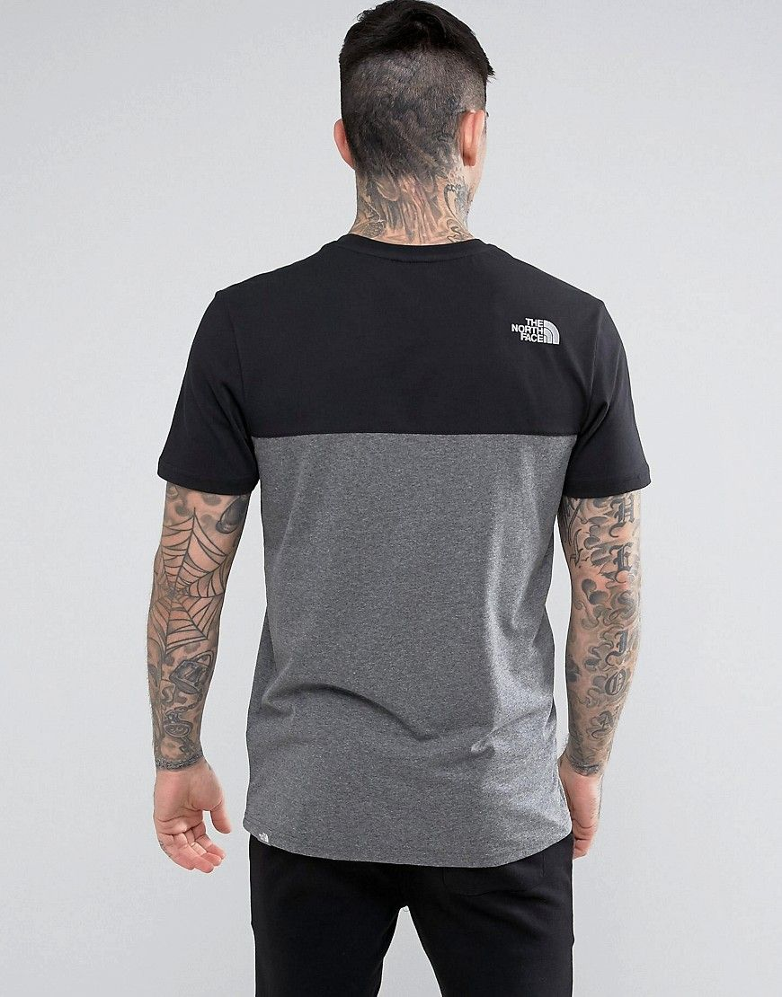 6eb39807c The North Face Westpeak T-Shirt Color Block and Chest Logo in Black ...