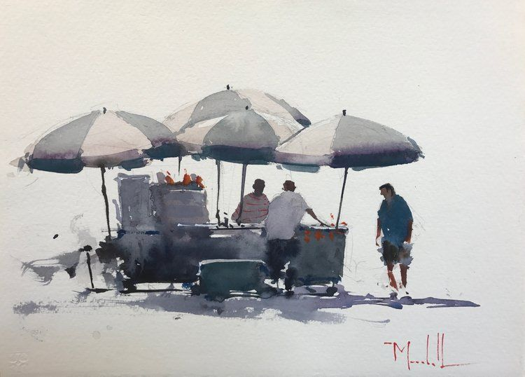 Scarlow's Gallery — Daniel Marshall AWS Watercolor