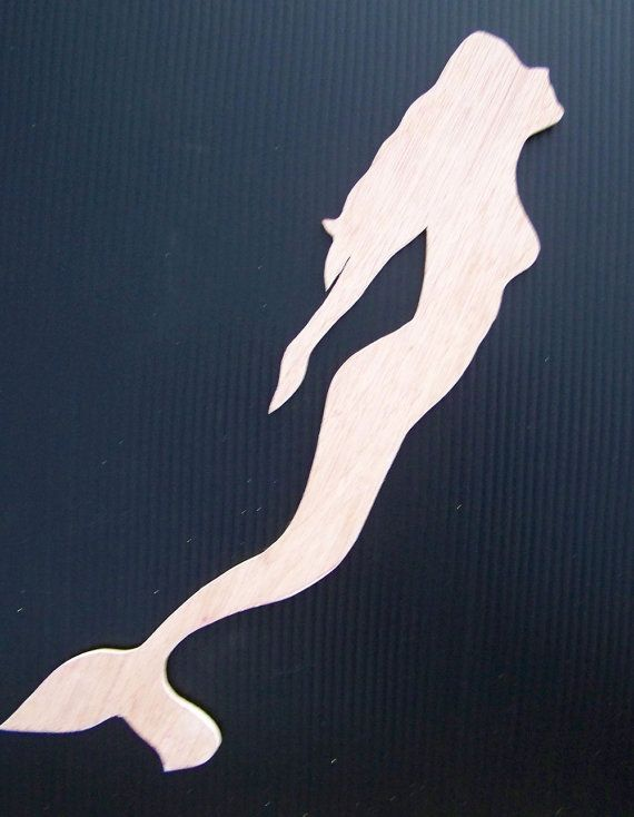 mermaid woodie cut out 17x4 quilting on my mind pinterest