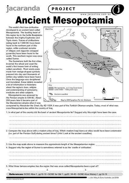 ancient-mesopotamia-worksheet.jpg (424×600) | teaching love ...