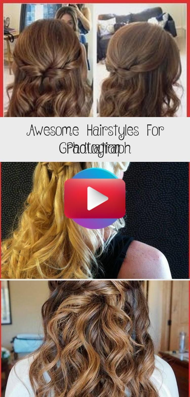 Awesome Hairstyles for Graduation Photography - hairstyle in 2020 | Hair styles, Graduation ...