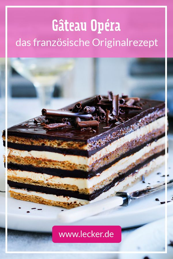 Rezept Torte Opera