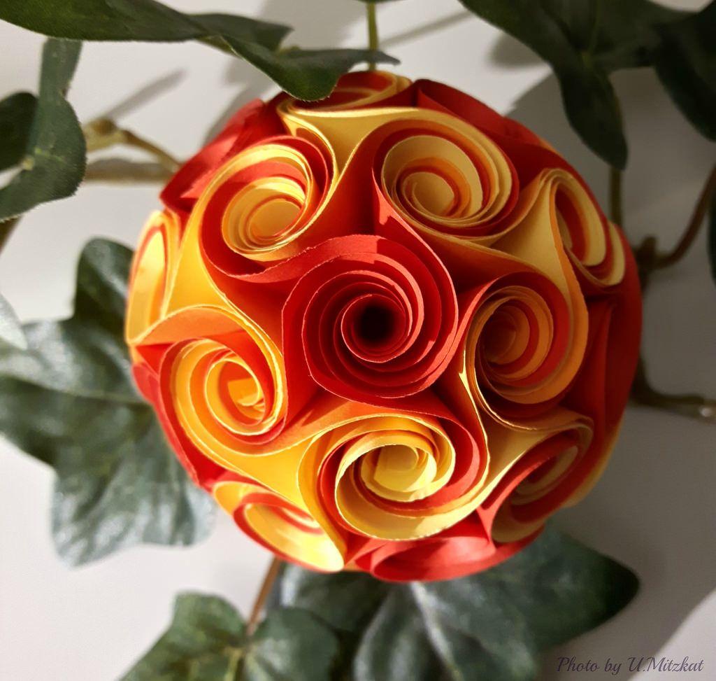 Twirl Icosidodecahedron By Uschi Mitzkat Decoration Noel Decoration Noel