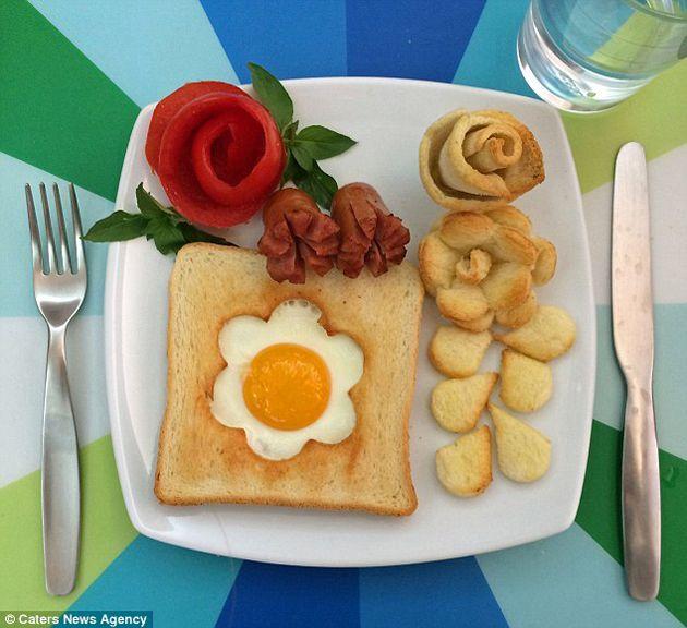 Pin En Desayunos