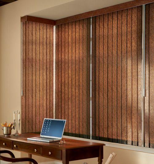Bali® Premium Faux Wood Vertical Blinds
