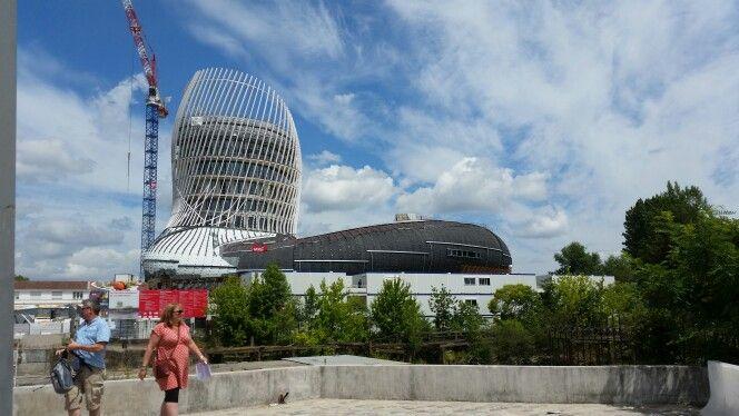 Bordeaux wine museum under construction