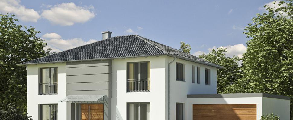 Fassade einfamilienhaus walmdach  Einfamilienhaus weiß grau | Fassaden, Eingänge | Pinterest ...