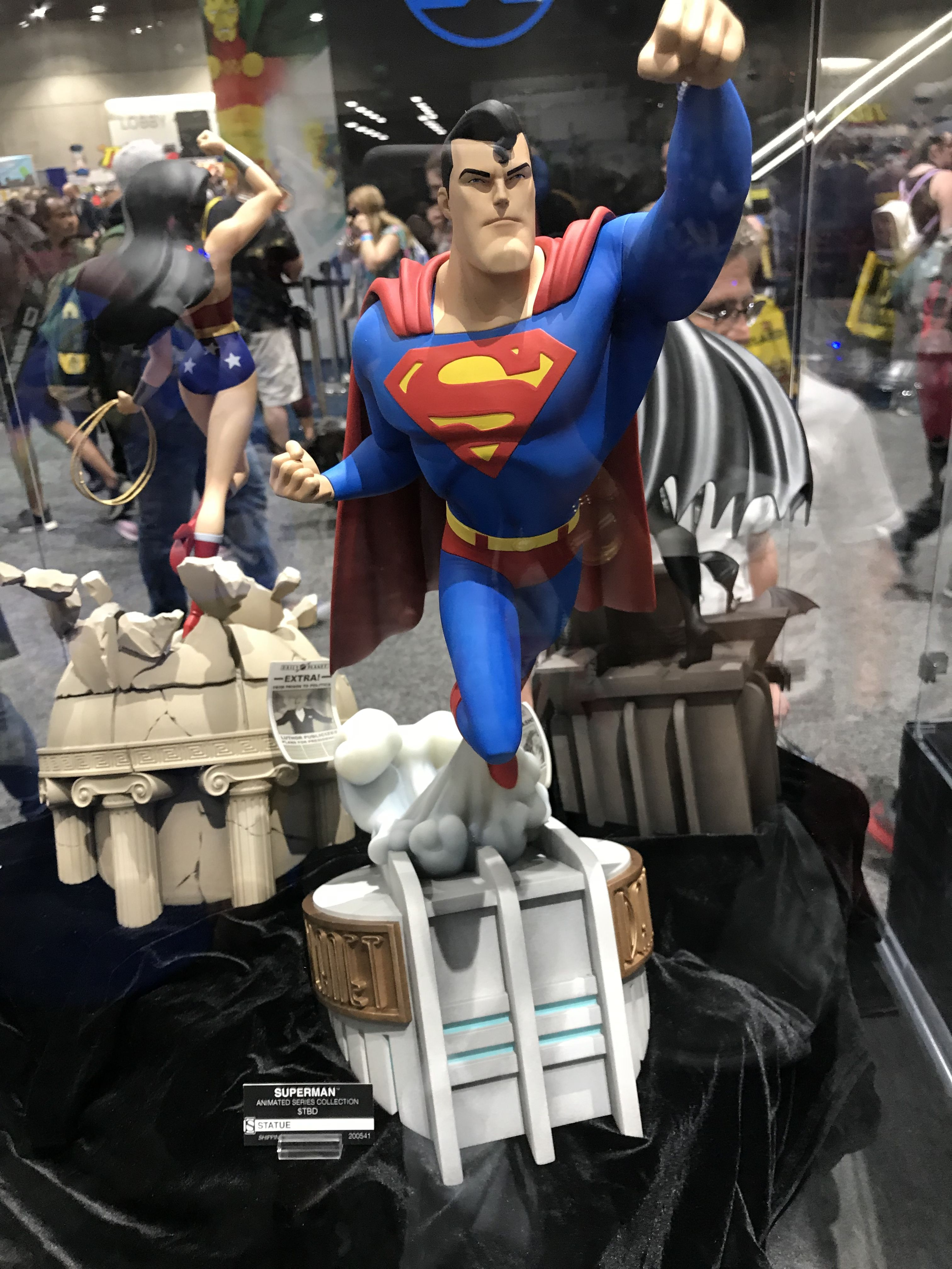 Sideshow Collectibles Animated Superman Statue Superman