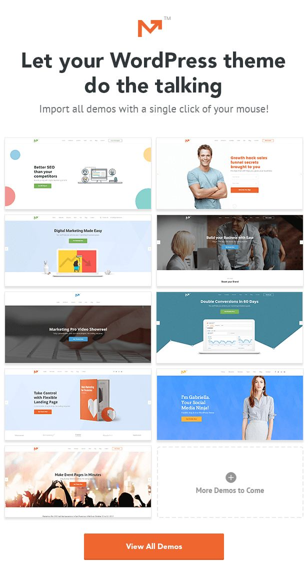 Marketing Pro – SEO, Landing, Marketing WordPress Theme | Wordpress ...