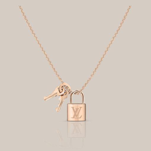 87d85099d Colgante Lockit de oro rosa a través de Louis Vuitton | JEWELRY ...