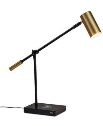 Adesso Collette Led Desk Lamp With Wireless Air Charger Usb Port Reviews All Lighting Home Decor Macy S Led Desk Lamp Desk Lamp Lamp