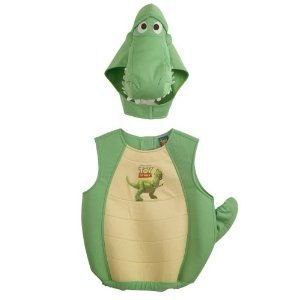 Toy Story Rex Costume Disney Toy Story 3 Rex Fancy Dress Up